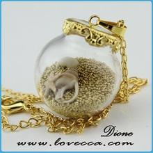 fashion wholesale hand blown clear glass ball ornaments bulk small glass dome