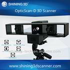 Optical 3d scanner/adjustable scan range/full size scanning