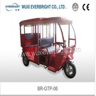 taxi passenger tricycle motorcycle, petrol tricycle for tourist