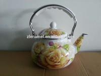 2.5L enamel tea kettle tetera enlozado