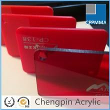 high quality transparent translucent acrylic price