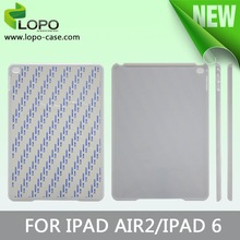 High quality sublimation tablet case for iPad Air 2 ( Ipad 6 ) for sublimation case