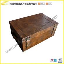 Personalized Handmade Leather Wine Bottle Box Carrier And Bottle Leather Wine Carrier