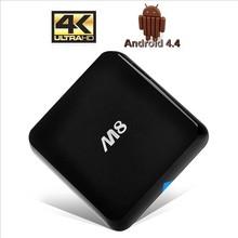 2014 Newest Original M8 Amlogic S802 Android TV Box Quad Core 2G/8G Mali450 XBMC GPU 4K WiFi Mini PC