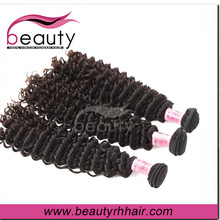 2015 New arrival jerry curl peruvian hair weaving kinky curly