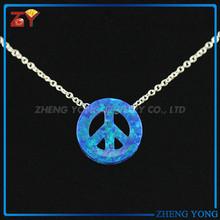 Opal Fashion Jewellery,Blue Opal Stone Necklace