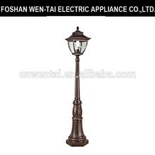 Outdoor die-cast aluminium led light garden/garden lighting pole light