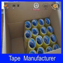 yellowish bopp adhesive packing tape Clear transparent sealing packing OPP Tape
