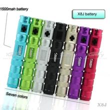 Kamry hot selling slim cigarette brand x8j vapor e cig, battery tube ecig mod