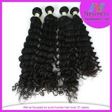 New arrived100% virgin human hair extensions jet black