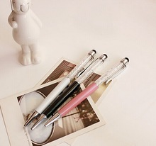 beautiful stylus metal promotional crystal pen as a gift