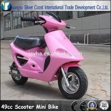 Pink 49CC Pull Start Mini Scooter for Children