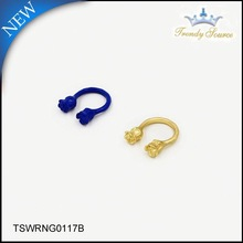 2015 Professional Manufacturer Crystal Jewelry tp ring piston