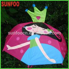 princess shape umbrella girl
