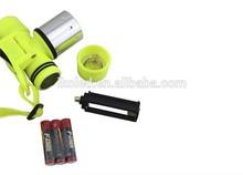 LED Waterproof Underwater Diving Headlamp 1800lm T6 Flashlight Swimming Headlight Led Lamp Head light Torch (AAA/18650 )