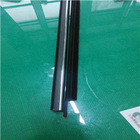 rubber seal/transparent silicon rubber strip/ hot sale rubber hinge strip YH-QC295