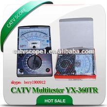 analógico y digital de multitester yx360trn