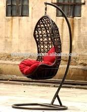 Garden rattan swing chair for balcony
