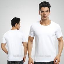 2015 custom high quality 100% cotton blank t-shirt for men, t shirt OEM factory, wholesale china