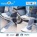 Männer im freien motorrad wasserdicht nicht- Rutsch regen stiefel schuhe cover zip elastische