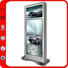 "Customized Floor Standing Indoor Double Screen/Two Side 55"" Lcd Screen Replacement"