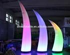 Advertising inflatable lighting pillar/led light inflatable pillar/decoratin inflatables