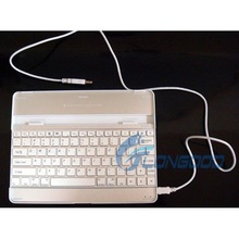 3 in 1 Wireless Keyboard Case Stand Aluminum Bluetooth Keyboard for iPad 2