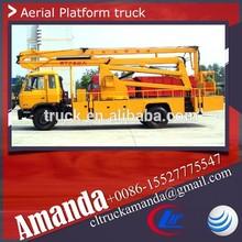 China factory Chengli directly supply 22m man lift truck, ladder lift truck