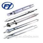mini extruder screw barrel design for mini injection molding machine