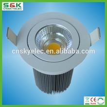 LED ceiling light led downlight 5W 7W 9W 12W 15W LED COB downlight 3 years warranty cob led downlight high power