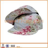 custom hawaii floral printing snapback cap hat bulk