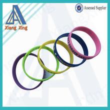 Wholesale Single Custom Bracelet Personalized Silicone Wristband for 2014 China Market