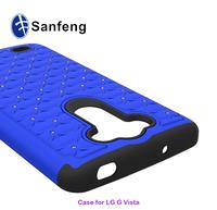 Hard thin PC Phone Case For LG G VISTA VS880 Silicone Skin Soft Cases
