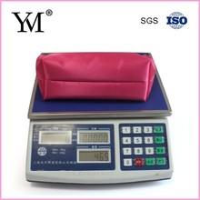 Soft cosmetic pouch bag female make up bag nylon bag
