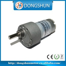 DS-37RS395 carbon brushed motor long life metal small size electric dc gear motor
