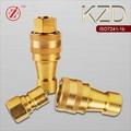 Kzd alta presión de la hidráulicas hidráulicos de la de acoplamiento para conexión de la tubería de ISO-1B