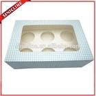 Sinicline custom made white color cardboard cake boxes uk