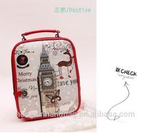 2015 messenger bag European fashion handbag elegant design from paris genunie leather bag