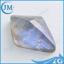 Shining Dark Blue Mixed Color Kite Shaped Natural Stones