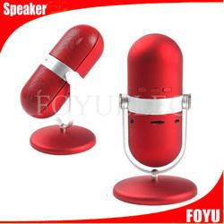 new product portable mini speaker pill bluetooth speaker wireless loudspeaker