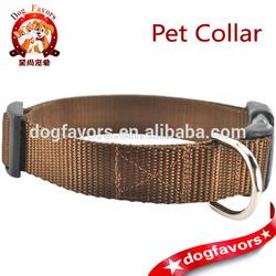 3 wide nylon spiked dog collar, Nylon Pet Collars, Cat Collars