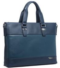 Fashion Elegant Genuine Leather Men PC Laptop Bag (114-06801)