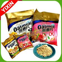Instant oatmeal drinking powder in sachet