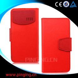 universal leather case for mobile phone, universal flip case, universal phone case