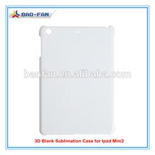 3D Blank Sublimation Case for Ipad Mini 2 sublimation tablet case for ipad Mini/blank cover