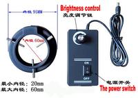 Black Ring type microscope High light LED light,internal diameter 60mm,designed for the microscope