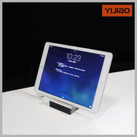practical and free standing thick acrylic for ipad holder