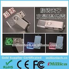 New design 8GB MINI Crystal Wrist USB New productions