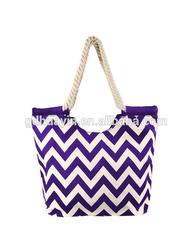 Customized canvas tote drawstring bag