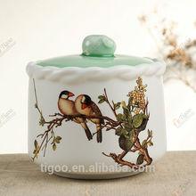 TG-409J235-WG-W-1 mason jar 1209 with high quality beauty glass vase